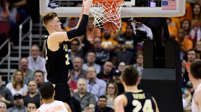 March Madness: Haarms en Purdue verslaan Tennessee