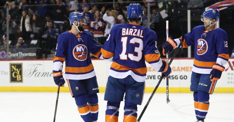 NHL play-offs: Eberle houdt hoop Islanders levend