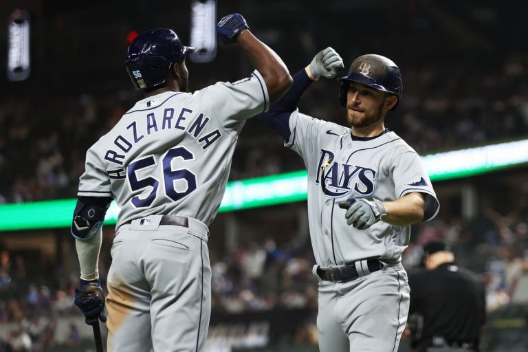 Rays verslaan Dodgers en komen langszij in World Series