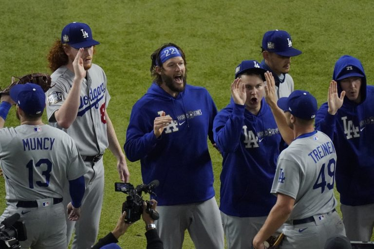 Dodgers op drempel van World Series-titel