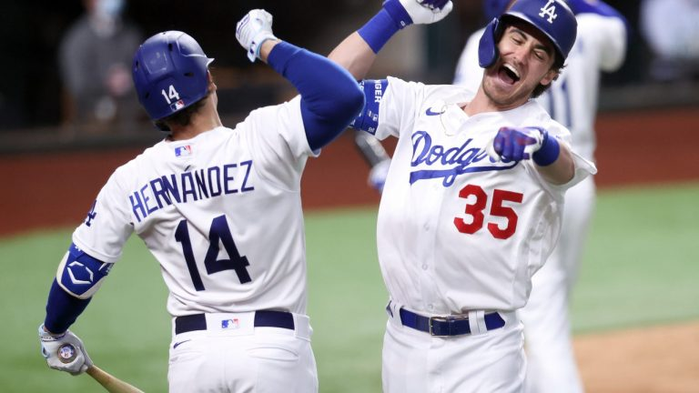 Braves verspelen voorsprong, Dodgers naar World Series