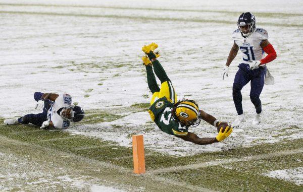 Seahawks winnen NFC West, Packers kloppen Titans