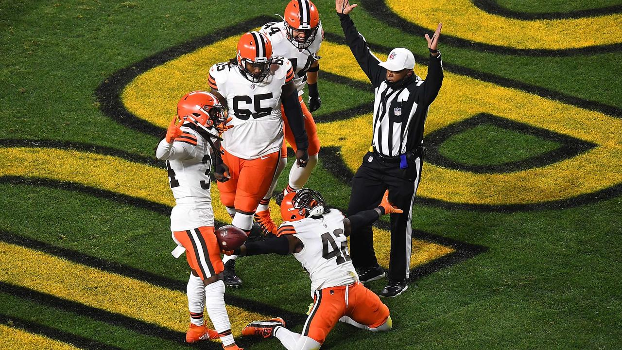 Cleveland Browns win play-off game