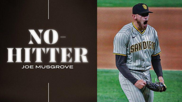 The Joe Musgrove On: Padres hebben eindelijk no-hitter