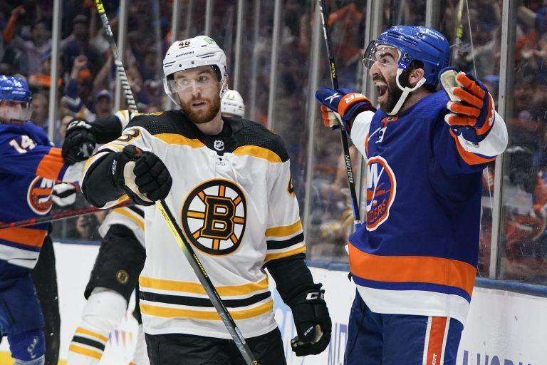 NHL play-offs: Isles geven Bruins genadeklap