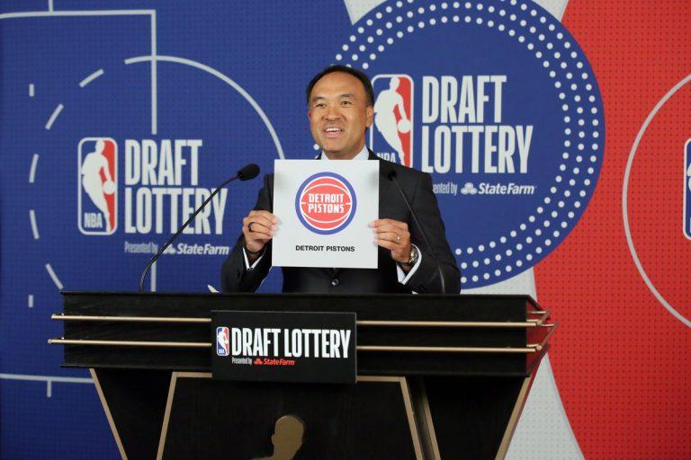 Eerste pick in de 2021 NBA Draft naar Detroit, Rockets en Cavaliers in de top 3