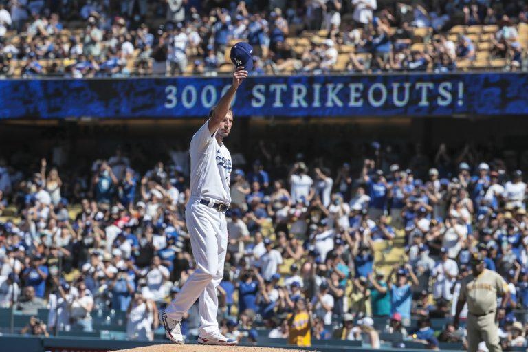 Max Scherzer bereikt grens van 3.000 strikeouts