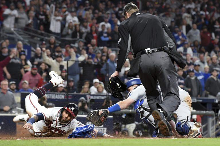 NLCS: Braves pijnigen Jansen en Dodgers in laatste at-bat